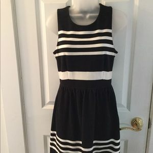 Madewell Striped Sleeveless Dress